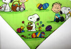 Snoopy Peanuts Easter Dog over the collar Scarf,  Dog Bandana