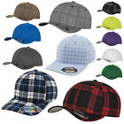 Original FLEXFIT casquette de base-ball PLAID/à rayures très fines/SQUARELINE/