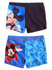 Boys Disney Mickey Mouse Kids Trunks Swimming Shorts New Swimwear Age 3-8 Years