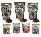 HEMP - Bait Tech pre cooked Super Seed Hempseed from TINS to 2.5kg Pouch Fishing