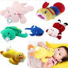 Cute Baby Feeding Bottle Plush Pouch Covers Nursing Keep Warm Holders Case 500ml