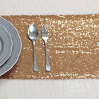 "10""x108"" 26x275cm Sparkly Rose Gold Sequin Table Runner Wedding Party Decoration"