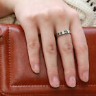1PC Stainless Steel Ring Couple Rings Wedding Engagement Costume Jewellery