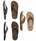 Reef Sandal - J-Bay Flip Flops - Dark Brown, Camel, Suede, Sandal, Surf, Beach