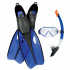 Dream Diver Scuba Dive Swim Set Mask Fins Flippers Goggles Snorkel X-LARGE