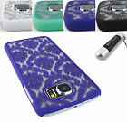 SAMSUNG GALAXY S6 S 6 SOFT TOUCH SLIM REAR HARD LACE CASE COVER ACCESSORY+STYLUS