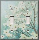 Switch Plates And Outlet Covers - Dogwood Tree Branches - Blue - Home Decor