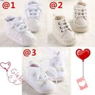 Soft Baby Girl Crib Shoes Toddler PreWalker Sneaker Sandal Newborn-18 Months #FU