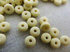 3x6mm 30 / 50grams OPAQUE ACRYLIC RONDELLE BEADS AB00398
