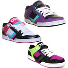 8965 Osiris Nyc 83 Low Womens Leather Lace Up Trainers