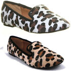 10462  Womens Slipper Flat Sole Slip On Round Toe Ladies Pump Evening Work Shoes