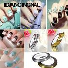 10 Rolls Striping Tape Line Nail Sticker Nail DIY Kit Nail Art UV Gel Tips