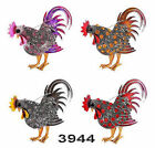Gothic Fashion Retro Jewelry Cock New Women Brooch New Rhinestone Beautiful Gift