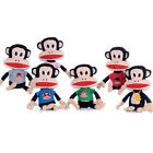 """PAUL FRANK 9"""" SOFT PLUSH CHARACTERS TOYS OFFICIAL FASHION JULIUS MONKEY"""