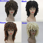 African Dreadlocks Wig Long Curly Wavy Rolls Hair Costume Cosplay Party Full Wig