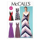 McCall's 7121 Sewing Pattern to MAKE Easy  Pullover Stretch Dress Various Styles
