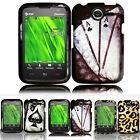 For Pantech Renue P6030 AT&T Colorful Design Hard Case Snap On Cover Accessory