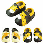 Cute Infant Baby Giraff soft Sole Leather Shoes Toddler Moccasin 0-24 Months new