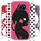 HEAD CASE CATS AND DOTS SILICONE GEL CASE FOR SAMSUNG GALAXY S6 G920