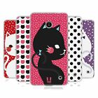 HEAD CASE CATS AND DOTS SILICONE GEL CASE FOR NOKIA LUMIA 635