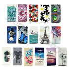Fashion Design Synthetic Leather Card Purse Stand Flip Case Cover For Phones #B2