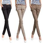 Career Skinny Trousers Cargo Womens Pencil Pants AU sz 6-14