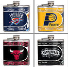 Choose Your NBA Team 6 oz. Stainless Steel Hi-Def Metallic Graphics Hip Flask