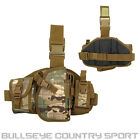 FIELDS AIRSOFT TACTICAL DROP LEG PANEL HOLSTER WITH MAGAZINE POUCHES
