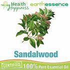 earthessence SANDALWOOD ~ CERTIFIED 100% PURE ESSENTIAL OIL ~ Therapeutic Grade
