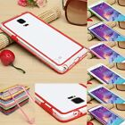 Hybrid Hard Clear PC +Soft TPU Bumper Cover Case For Samsung Galaxy Note 4 N9100