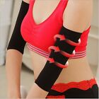 Women's Sport Arm Sleeve Stretch Protective Shape Armband Wristband For Gifts W