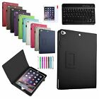 For Apple iPad Air 2 2014 Slim Leather Case Cover + Bluetooth Keyboard /Film/Pen