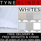 """From ONLY 99p Vertical blinds replacement SLATS LOUVRES - white 3.5""""  (89mm)"""