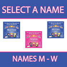 PERSONALISED EDUCATIONAL SONGS AND STORIES FOR KIDS CD *NAMES M - W* NEW