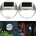 SOLAR POWERED LED GARDEN FENCE LIGHTS WALL PATIO DOOR DECKING OUTDOOR LIGHTING
