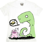 Meghan McMahon Monkey Cadaver Hungry Dinosaur Junior T Shirt *Cute Kids Shirt*
