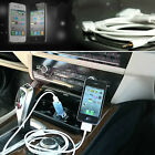 CAR STEREO AUDIO SYSTEM AUX IN CHARGE CABLE + CHARGER FOR IPHONE 6 PLUS 5.5 Inch