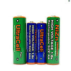4 AA AM3 2800mWh + 4 AAA LR03 1150mWh NiZn 1.6V Rechargeable Battery Utracell