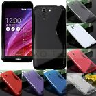 S Line Flexible Soft TPU Gel Silicone Case Cover For ASUS Padfone X/S PF500KL 5""