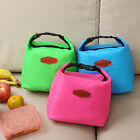 New Insulated Lunch Bag Cool Tote Cooler Canvas Picnic Beach Travel baby Case