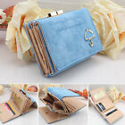 Fashion Women's Style Leather Wallet Button Clutch Purse Lady Short Handbag Bag