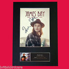 JAMES BAY Signed Autograph Mounted Photo Reproduction PRINT A4 568