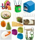 Hamster Gerbil Playground Toy Ladder Harness Wheel Bowl Bridge Treats  KRT