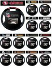 NFL FOOTBALL TEAM LOGO SUEDE MESH CAR AUTO STEERING WHEEL COVER-PICK YOUR TEAM! $19.89 USD on eBay
