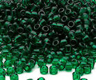 Lot of 200 Matsuno 6-0 Glass Seed Beads Shiny Transparent Colors Spacer Beads