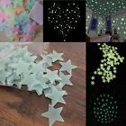 Night Glow Decal Stickers 2 Style Space Star Baby 100Pcs 3cm