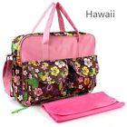 Hot Baby Waterproof Nappy Changing Bags With Changing Mat Diaper Bag Mat New