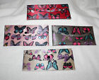 "7"" Ladies Checkbook Cover Wallet Id Holder Colorful Butterfly U Choose Favorite"