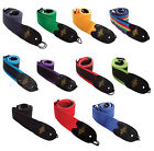 Rotosound Guitar Strap High Quality Webbing Leather Ends Choice Of Colours £8.99