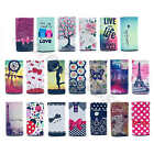 Luxurious Universal Synthetic Leather Card Pocket Press Case Cover F HTC Phone#D